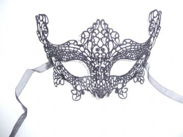 Black Lace  Eye Mask c